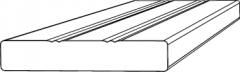 X.Boční lišta 90x16 mm délka 2m